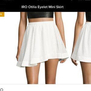 IRO otilia mini skirt